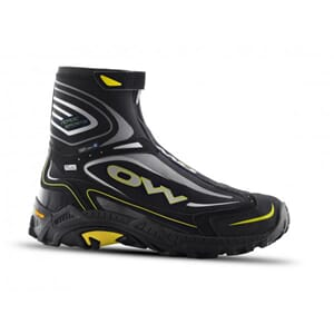 One Way Mora Mid Winter Sko Black/Yellow Herre