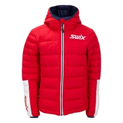 Swix Dynamic Down Jacket JR, Rød