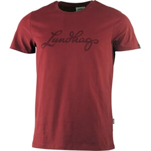 Lundhags Ms Tee, dark red