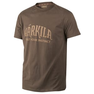 Härkila t-shirt, Slate brown
