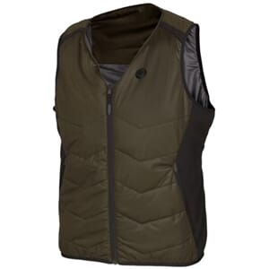 Härkila Heat v-hals vest, Willow green/Black